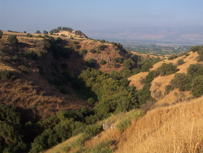Where limestone meets basalt - the Hermon and Golan