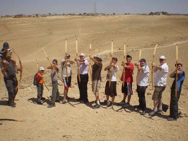 Desert Archery near Mitzpeh Ramon