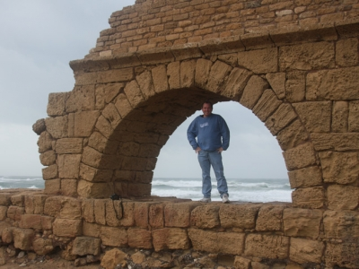 The Roman Aqueduct of Caesarea