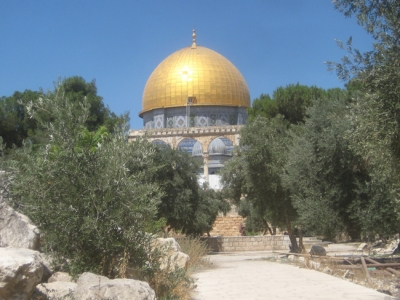 Earliest Islamic structure still standing, on top of the Temple Mount