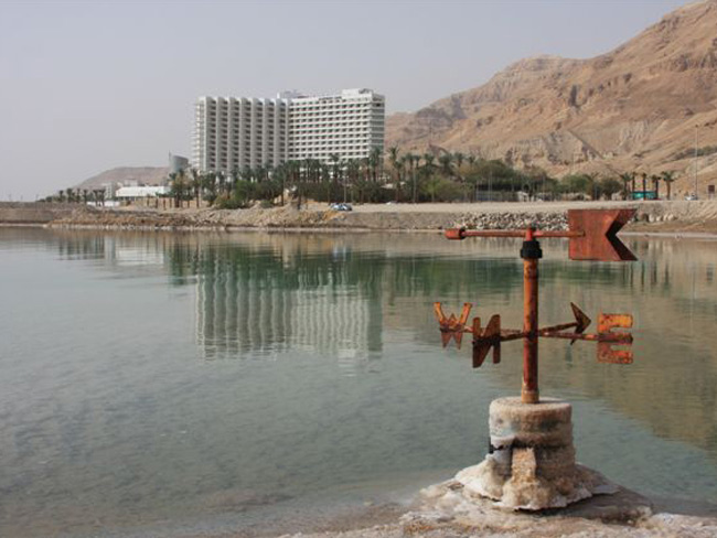 People come from all directions to the Dead Sea