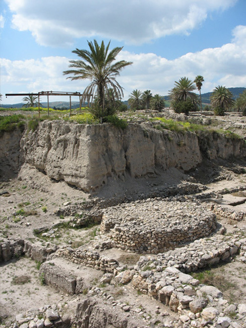 Twenty five layers of history at Tel Megiddo