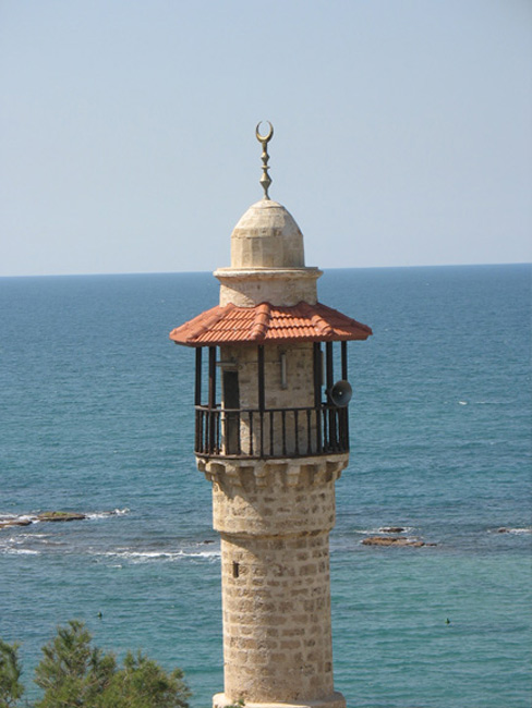 Call to prayer in Jaffa
