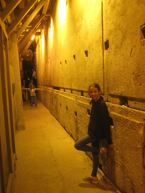 The longest stone at the Western Wall is 42 feet