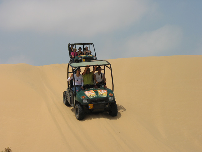 ATV's on the Ashdod Dunes
